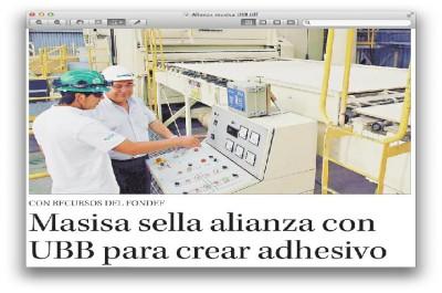 Proyecto adjudicado por Investigador del CBN sella alianza entre UBB y Masisa.